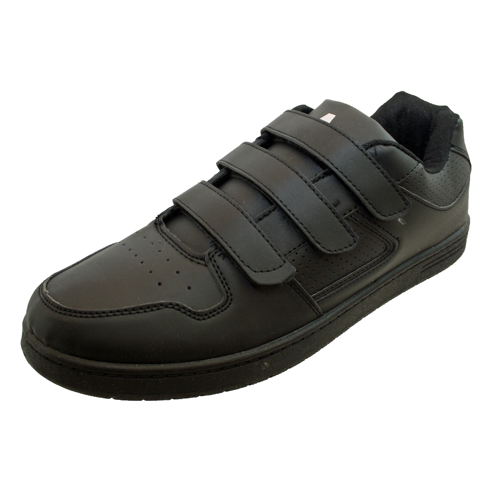 Men's Velcro Shoes Whether you have mobility issues or suffer from arthritis, getting your shoes on and off can be the hardest part of your day. Shoes with velcro straps and fasteners can make that easier.