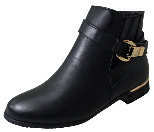 Black Low Heel Chelsea Boots Black low-heel boots from Paul Green. 'Carly' are a leather ankle boot with sturdy smooth lines that reinforce the well made structure of the boot.