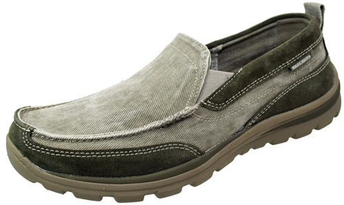 Skechers Relaxed Fit Melvin Slip On Shoes